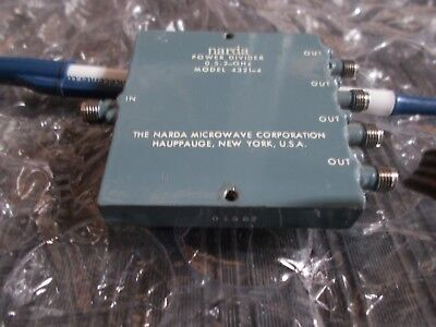 Narda 4321-4 Power Divider Splitter SMA 2GHz