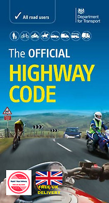 Official Highway Code Latest Book Test Dvsa Valid Vehicle Road Driving Paperback