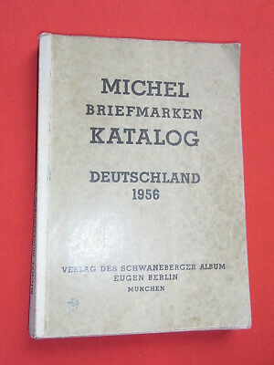 MICHEL Briefmarken Katalog Deutschland 1956