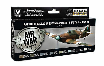 (18,97€/100ml) Vallejo RAF & FAA SEAC (Air Command South East Asia) 1942-45 71.1