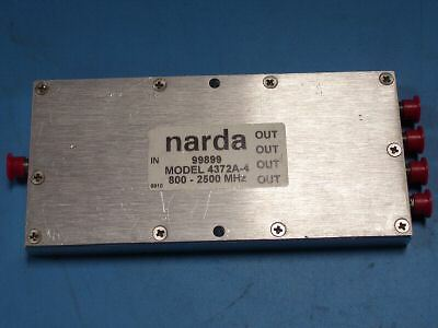NARDA 4372A-4 POWER DIVIDER 800-2500MHz