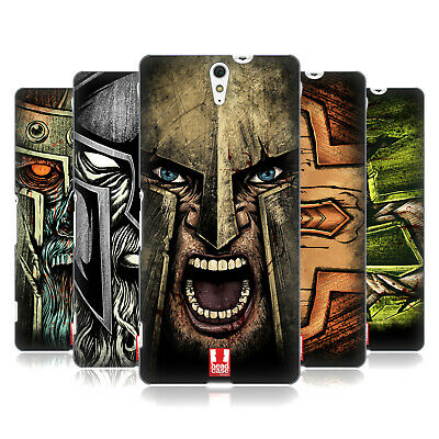 Head Case Designs Medieval Helmets Back Case For Sony Phones 2