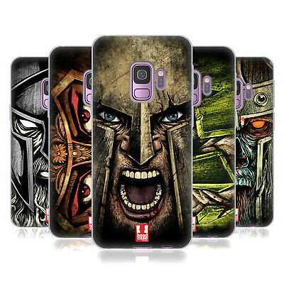 Head Case Designs Medieval Helmets Gel Case For Samsung Phones 1