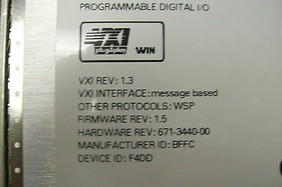 USED WORKING PULL GOOD CONDITION Tektronix VX4802 80 Channel Digital IO Module