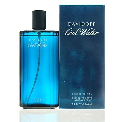 Davidoff Cool Water Man Eau de Toilette 200 ml EDT NEU OVP