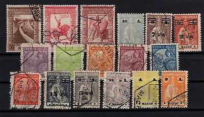 P95456 / Macao / Lot 1913 - 1938 Oblitere / Used 167 €