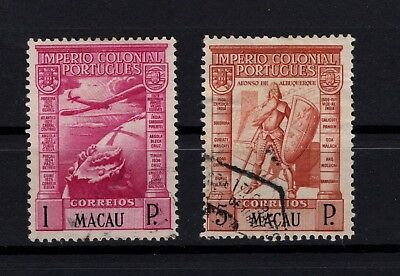 P95460 / Macao / Sg # 381 - 390 Obliteres / Used 121 €