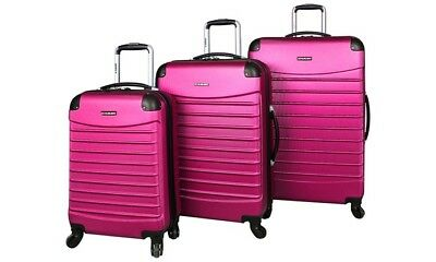 39509a632 INUSA CHICAGO COLLECTION Lightweight Hardside Spinner Luggage 21 ...