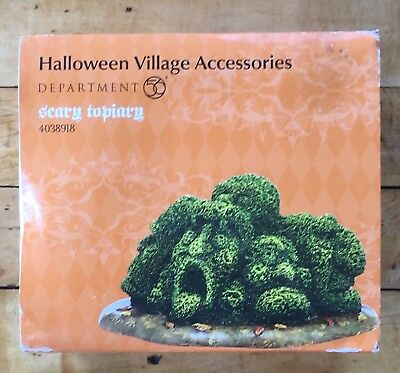 Dept 56 Halloween Village Accessories Scary Topiary 4038918