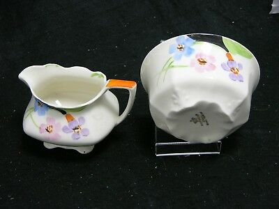 Myott Sons & Co Creamer and Bowl (BW139)