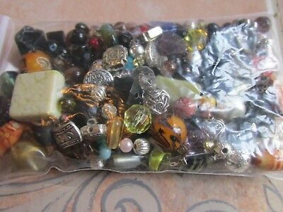 Very Nice Bag 4 Ozs Of Loose Beads For Jewelry Making, Crafts, Repairs  B2