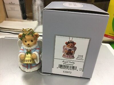 CHERISHED TEDDIES Bell Ornament Dated 2018-NEW WITH BOX!