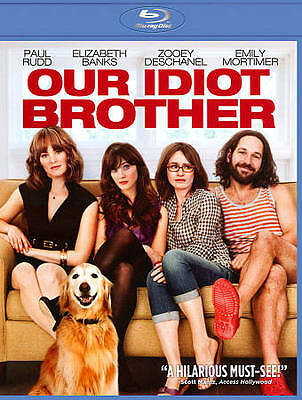 😀 Our Idiot Brother (Blu-ray Disc, 2011)