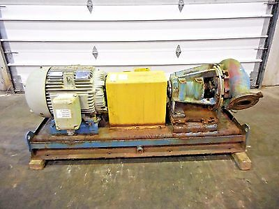 """RX-3637, METSO MM150 LHC-D 6"""" x 4"""" SLURRY PUMP W/ 50HP MOTOR AND FRAME"""