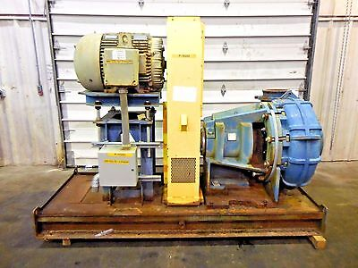 """RX-3595, METSO MM300 LHC-D 12"""" x 10"""" SLURRY PUMP W/ 75HP MOTOR AND FRAME"""