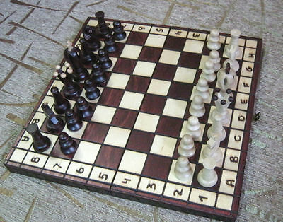 Wooden chess set board game King size 65 mm NEW HAND MADE FROM WOOD