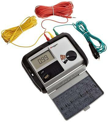 Megger DET3TD Terminal Earth Ground RESISTANCE Tester