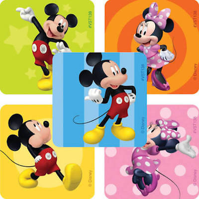 Mickey And Minnie Mouse Stickers.25 Disney Mickey Minnie Mouse Stickers Party Favors Teacher