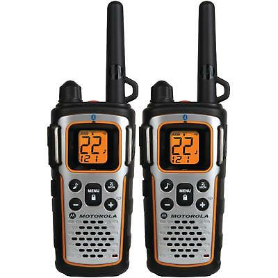 Motorola MU350R 35-Mile Range 22-Channel FRS/GMRS Two Way Bluetooth Radio Grey
