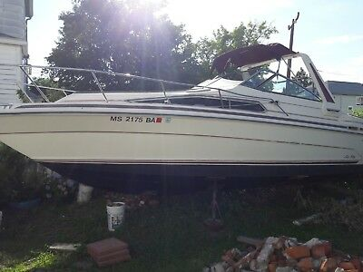 1987 Sea Ray 268 26' Cabin Cruiser - Massachusetts