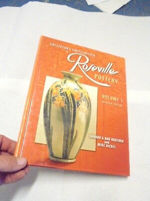 book roseville pottery collector's encyclopedia volume 1 2001