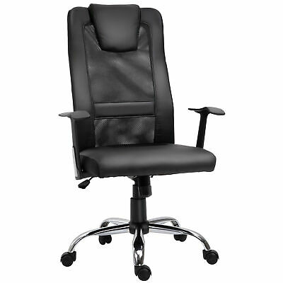 High Back Mesh Office Chair Swivel Ergonomic Task Executive Seat Black
