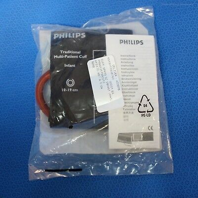 Philips Infant Blood Pressure Cuff Reusable Single Tube Bayonet 40401A