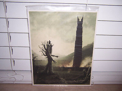 """Lord of the Rings Loot Crate Exclusive 8"""" x 10""""  Art Print"""