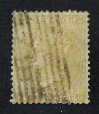 CKStamps: Great Britain Stamps Collection Scott#40 Victoria Used HR