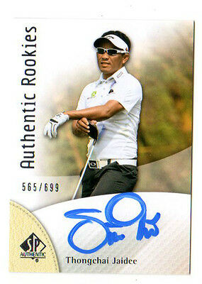 Thongchai Jaidee  2014 Sp  Authentic , Authentic Rookies (Autograph) # /699