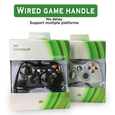 USB Wired Controller Game Pad Vibration Feedback For Microsoft Xbox 360 IS