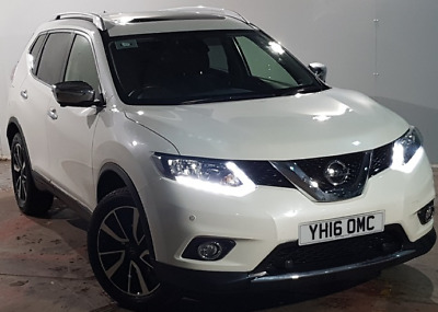 2016 Nissan X-trail Dci Tekna Finished in Aqua White