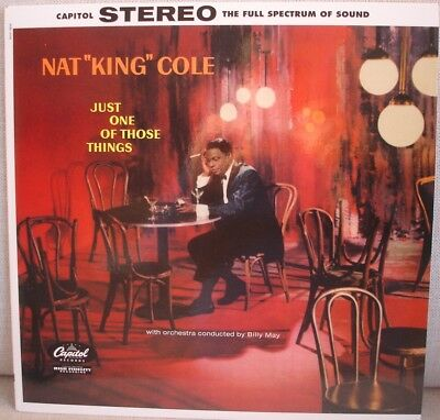 Audiophile S&P LP Nat King Cole – Just one of those things *Mint -*
