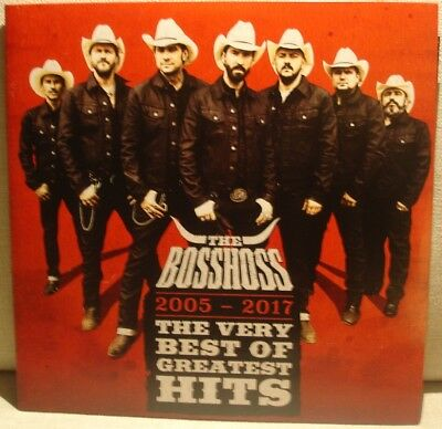 2LP The BOSSHOSS – 2005-2017 The very best of – Greates Hits - Mint