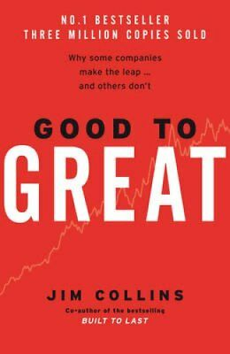 Good To Great by Jim Collins 9780712676090 (Hardback, 2001)