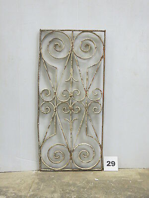 Antique Egyptian Architectural Wrought Iron Panel Grate (E-29)