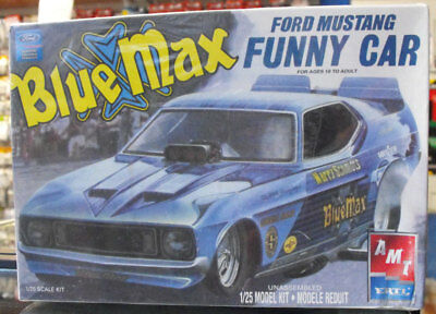 Amt 1/25 Blue Max Ford Mustang Funny Car 21726P