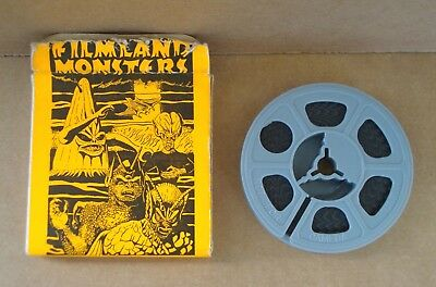 Fantastic Monsters of the Films FILMLAND MONSTERS 8mm Film by PAUL BLAISDELL