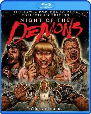 NIGHT OF THE DEMONS New Sealed Blu-ray + DVD Collector's Edition