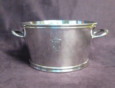 TOWN HOUSE OF LOS ANGELES Antique Ice Bucket Champagne Cooler Silverplate 1947