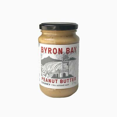 Byron Bay Peanut Butter - Chunky with No Added Salt