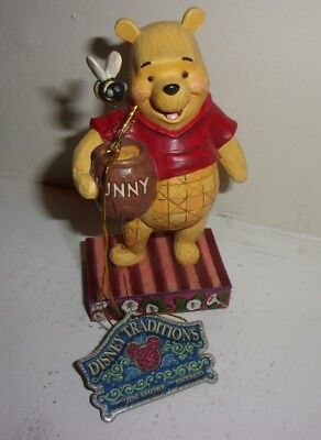 Winnie the Pooh Jim Shore Enesco Silly Old Bear Disney Figure with Tag
