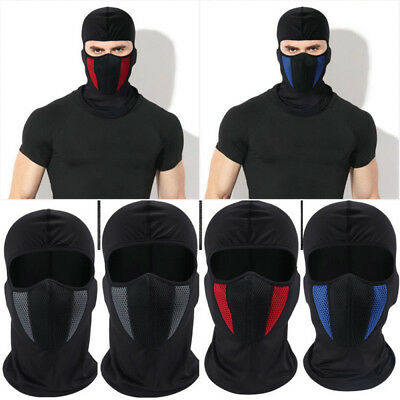 Outdoor Windproof Ski Motorcycle Cycling Balaclava Full Face Mask Hat Neck Scarf