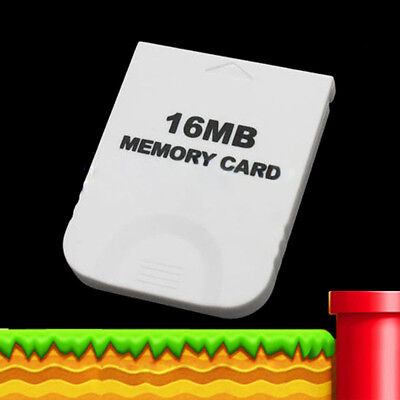 Generic White Memory Card 251 blocks 16MB for Nintendo Gamecube & Wii