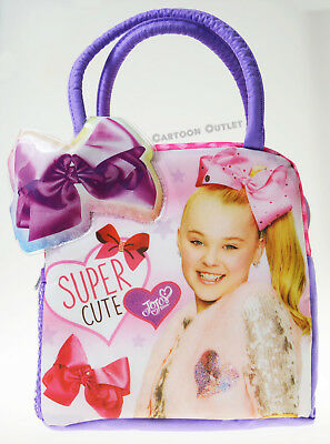 Pink Jojo Siwa Girls School Insulated Lunch Box Tote Bag Nickelodeon Xams Gift