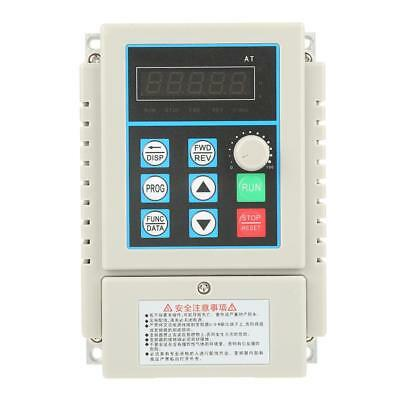 AC 220V 0.45KW Single Phrase Variable Frequency Drive Inverter PWM control gbt