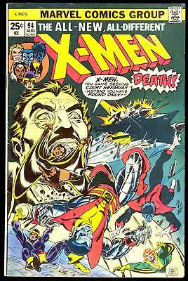 X-Men #94 1St App Of New Team In Title Claremont Classic Issue