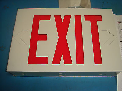 Lithonia Lighting 4PH13A LED Lit EXIT Sign, New