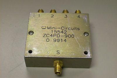 Mini Circuits Zc4Pd-900 Coaxial Power Spliter / Combiner
