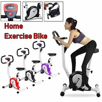 Upright Aerobic Exercise Bike Training Cycling Fitness Cardio Workout In/Outdoor